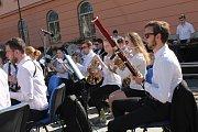 Ve čtvrtek v 16 hodin začal hudební festival Hudba tisíců - Mahler 2017. Akci zahájil dechový orchestr Tutti ze Základní umělecké školy v Jihlavě pod vedením dirigenta Jana Noska.