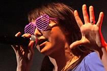 Své umění předvedla s kapelou i Ewa Farna.