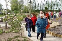 Jarní procházka po třešťském arboretu