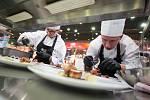 Kuchařská soutěž Trophée Mille v Citypark Jihlava.
