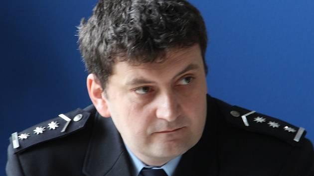 Petr Petr, šéf jihlavského územního odboru policie.