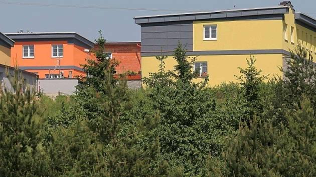 Lokalita Na Člunku v Jihlavě je na první pohled jako stvořená pro život.