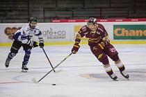 Jihlavští hokejisté jedou ven. O body se poperou na ledě v Litoměřicích.