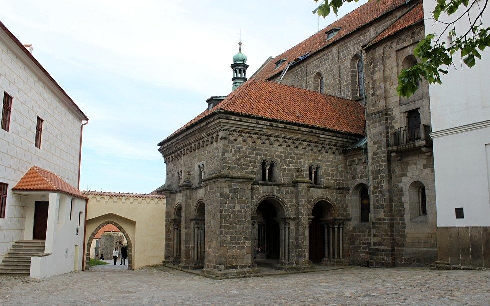 Bazilika sv. Prokopa Třebíč.