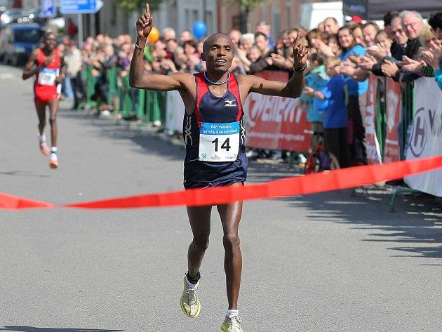Jihlavský půlmaraton ovládne v neděli krajské město. Přijdou také běžci z ciziny, jako je tomu v Golčově Jeníkově na Běhu Jarmily Kratochvílové? (na snímku)