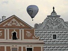 I když jim příliš nepřálo počasí, balóny v pátek i v sobotu vzlétly.