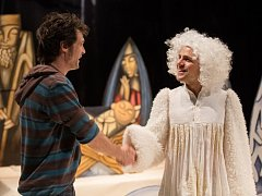 Biblický příběh. V nejnovější hře uvidí diváci Jána Burdu v roli Honzy a také Daniela Ondráčka jako anděla.