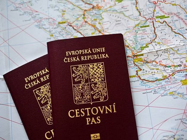 Cestovní pas.