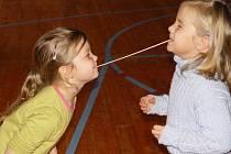 Škola ve Zhoři si užívala špagetový den.