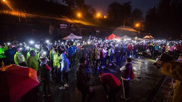 Charitativní Noční běh pro Světlušku v Jihlavě. Ilustrační foto