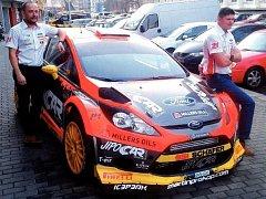 Pilot Martin Prokop (vpravo) se svým spolujezdcem Janem Tománkem očekávají od této sezony výrazný výkonnostní posun. A pokud možno i vylepšení dosavadních historických úspěchů českého rallye sportu.