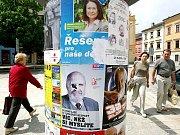 Volby v Třebíči.