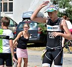 Jihlavský triatlon byl mistrovstvím Vysočiny.