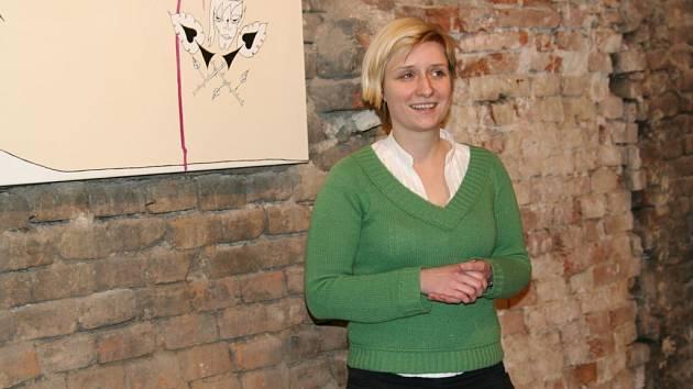 Kurátorka Galerie Půda Lucie Berková.
