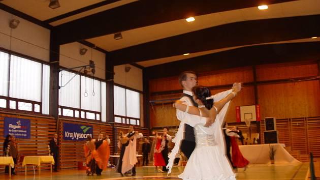 Soutěž v latinsko-amerických tancích v Jihlavě