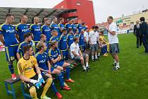 Fotografování klubu FC PSJ Vysočina Jihlava z 24. července.