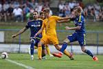 FC Vysočina Jihlava - FK Dukla Praha. Ilustrační foto