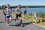 Půlmaratón okolo Nového Veselí.