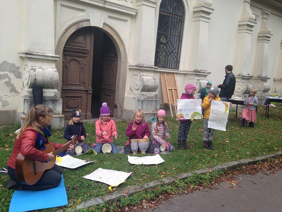Takto vypadal školní projekt jihlavské Scioškoly ve Smetanových sadech.