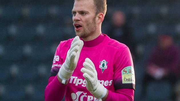 Brankář Roman Valeš.