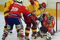 Jihlavští a třebíčští hokejisté změřili dvakrát síly už v přípravě. Z vítězství se v obou případech radoval domácí tým: Dukla vyhrála před vlastním publikem 5:2, Horácká Slavia 4:2.
