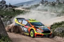 Smyky, prach, hrabání. To všechno nabízí atraktivní Portugalská rallye. Martin Prokop vše zvládl nad očekávání.