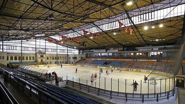 Horácký zimní stadion v Jihlavě.