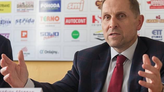 Bedřich Ščerban jednatel HC Dukla Jihlava.