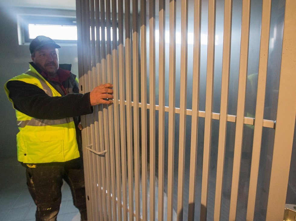 Stavba nové protialkoholní záchytné stanice v Jihlavě.