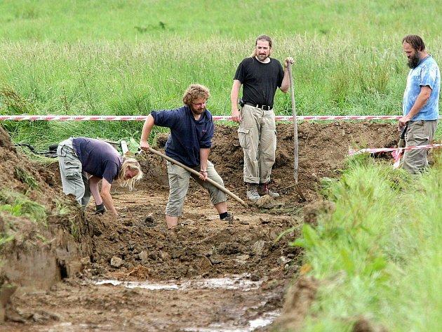 Místo nálezu vlokalitě Budínka u Dobronína na Jihlavsku.