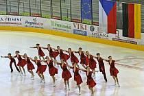 V Jihlavě se na včerejších závodech Jihlavský ježek 2009 představila špička z českého synchronizovaného bruslení. Oku lahodící byl pohled na skvěle sladěnou šestnáctičlennou skupinu tanečnic na bruslích.