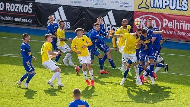 V minulé sezoně skončilo utkání mezi FC Vysočina Jihlava a FK Varnsdorf výhrou hostů 2:1.