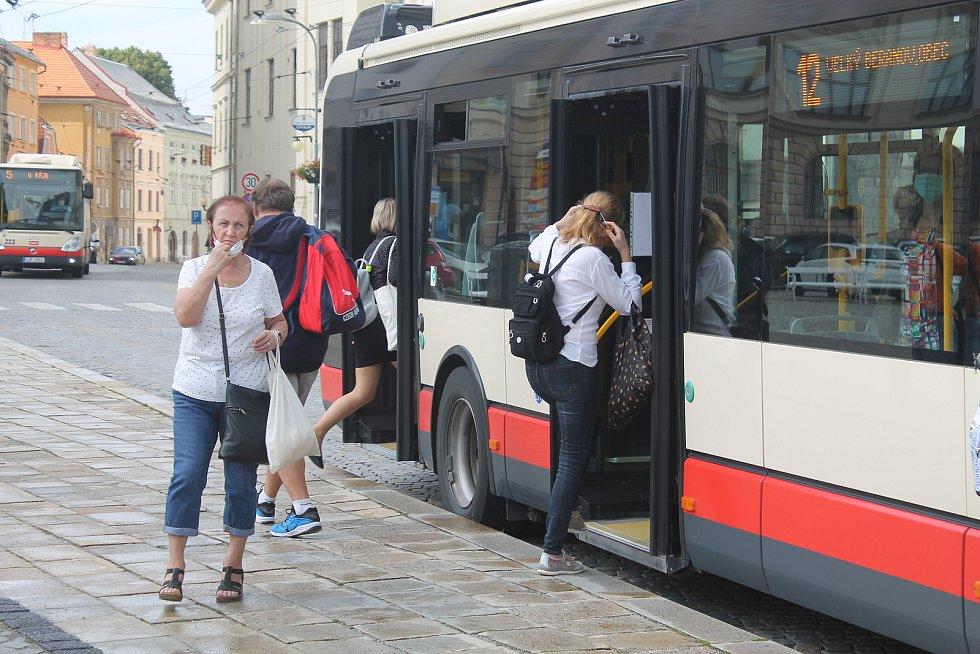 Od 14. července 2020 je nutné nosit na Jihlavsku roušky mimo jiné v MHD a  v obchodech.