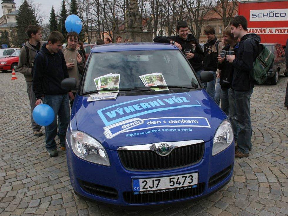 Výherní automobil, nová Fabia.