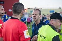 Průběh baráže kapitán jihlavských fotbalistů Lukáš Vaculík jen těžce kousal.