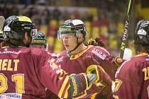 Hokejisté Dukly Jihlava, ilustrační foto.