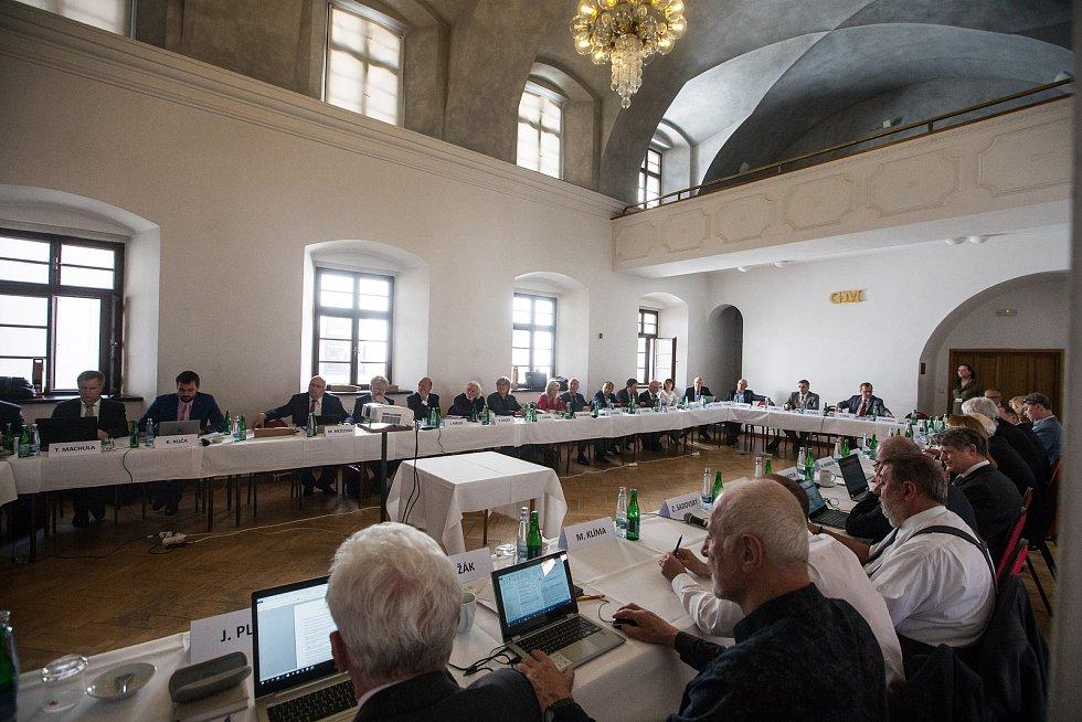 Zasedání Pléna České konference rektorů v Jihlavě.