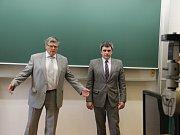 Vedení Vysoké školy polytechnické Jihlava otevřelo Laboratoř experimentálních měření. Na akci přišel také hejtman Kraje Vysočina Jiří Běhounek.