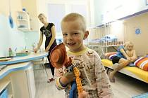 Vánoční pokoj. Lidé pomohli jihlavské nemocnici vybavit už několik Vánočních pokojů včetně dětského.