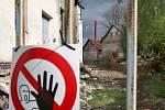 Areál bývalých skláren v Dobroníně, Ilustrační foto.