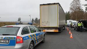 Akce na D1. Policisté si posvítili na nelegální migraci