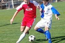 Jarní zápas vyhrál Humpolec. Z minulé sezony má lepší bilanci klub zpod Orlíku. První zápas v Pelhřimově skončil remízou. Jarní odvetu pak vyhrál Humpolec nejtěsnějším rozdílem.