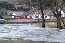 Řeka Jihlava v Bítovčicích