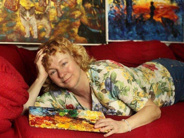 Magdalena Křenková na fotce od své sestry Miriam Prokopové.