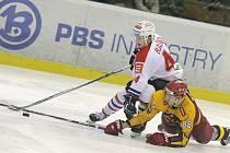 Jasná záležitost. I druhé letošní derby se stalo kořistí jihlavských hokejistů. Dukla o svém vítězství znovu rozhodla v závěrečné třetině.