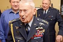 Válečný veterán Imrich Gablech nedávno oslavil sté narozeniny