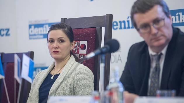 Setkání Deníku s primátorkou Jihlavy Karolínou Koubovou proběhlo 5. února v Jihlavě.