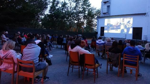 Letní kino v Havlíčkově Brodě.
