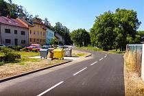 Revitalizace je znát, Mlýnská ulice nyní vypadá lépe než dříve.