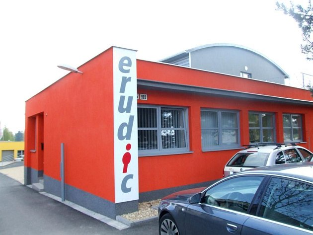 Budova vzdělávacího centra Erudic.